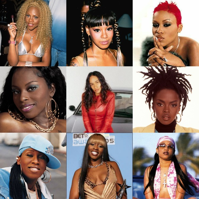 Left Eye And Lil Kim Female Rap– T...
